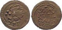 Kipper Cu 3 Pfennig 1622 Sachsen-Kamenz, S...