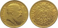 10 Mark  Gold 1906 G Baden Friedrich I. 18...