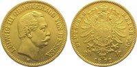 20 Mark  Gold 1872 H Hessen Ludwig III. 18...