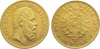 10 Mark  Gold 1879 F Württemberg Karl 1864...