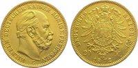 20 Mark  Gold 1872 C Preußen Wilhelm I. 18...
