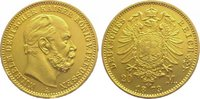 20 Mark  Gold 1873 A Preußen Wilhelm I. 18...