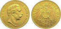10 Mark  Gold 1893 A Preußen Wilhelm II. 1...