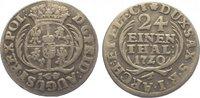 1/24 Taler 1720 Sachsen-Albertinische Linie Friedrich August I. 1694-17... 60,00 EUR  +  10,00 EUR shipping