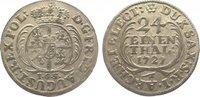 1/24 Taler 1727 Sachsen-Albertinische Linie Friedrich August I. 1694-17... 95,00 EUR  +  10,00 EUR shipping