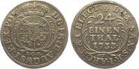 1/24 Taler 1733 Sachsen-Albertinische Linie Friedrich August I. 1694-17... 95,00 EUR  +  10,00 EUR shipping