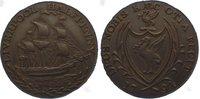 Cu Halfpenny 1794 Großbritannien-Lancashir...