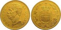 20 Lire Gold 1882  R Italien-Königreich Um...