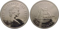 10 Dollars 1979 Tuvalu  Fast Stempelglanz