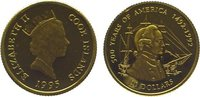 20 Dollars Gold 1995 Cook Islands Elizabet...