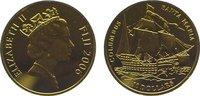 10 Dollars Gold 2006 Fidschi Inseln Elizab...