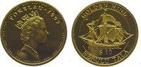10 Dollars Gold 1997 Tokelau  Polierte Platte