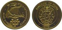 10 Pa anga Gold 2003 Tonga Topou IV. seit ...
