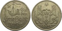 Gulden 1923 Danzig  Sehr schön