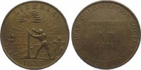 Cu Cent 1833 Liberia American Colonization...