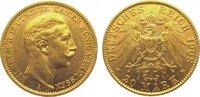 20 Mark Gold 1908  A Preußen Wilhelm II. 1888-1918. Vorzüglich  325,00 EUR  +  10,00 EUR shipping