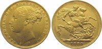 Sovereign Gold 1880  S Australien Victoria...