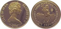 Crown Gold 1984 Großbritannien-Isle of Man...
