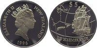 5 Dollars 1996 Neuseeland Elizabeth seit 1...