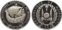 100 Francs 1996 Djibouti Republik seit 197...