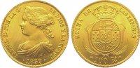 100 Reales Gold 1859 Spanien-Königreich Is...