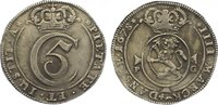4 Mark (Krone) 1678  PG Norwegen Christian...