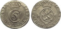 2 Mark 1670 Norwegen Christian V. 1670-169...