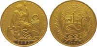 100 Soles Gold 1951 Peru Republik seit 182...