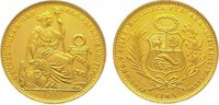 20 Soles Gold 1951 Peru Republik seit 1821...