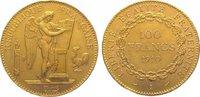 100 Francs Gold 1910  A Frankreich Dritte ...