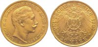 20 Mark Gold 1907  A Preußen Wilhelm II. 1...