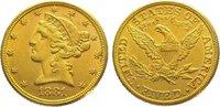 5 Dollars Gold 1881 Vereinigte Staaten von...