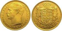 20 Kronen Gold 1908 Dänemark Frederik VIII...