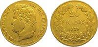 20 Francs Gold 1839  A Frankreich Louis Ph...