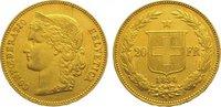 20 Franken Gold 1894  B Schweiz-Eidgenosse...