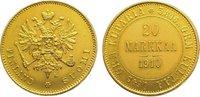 20 Markkaa Gold 1910  L Finnland Nikolaus ...