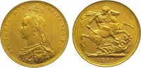 Sovereign Gold 1892  M Australien Victoria...