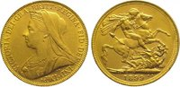 Sovereign Gold 1899  M Australien Victoria...