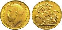Pound Gold 1915  M Australien Georg V. 191...