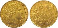 20 Francs Gold 1851  A Frankreich Zweite R...
