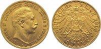 10 Mark Gold 1909  A Preußen Wilhelm II. 1...