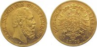 10 Mark Gold 1873  F Württemberg Karl 1864...
