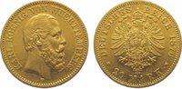 20 Mark Gold 1876  F Württemberg Karl 1864...