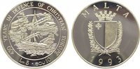 5 Liri - 10 Ecu 1993 Malta Republik seit 1...