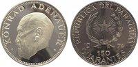 150 Guaranies 1974 Paraguay  Polierte Platte