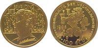 100 Ecu Gold 1995 Niederlande-Königreich B...