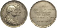 Silbermedaille 1806-1827 Sachsen-Albertini...