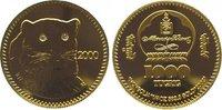 1000 Tugrik Gold 2000 Mongolei  Polierte P...