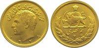 1/2 Pahlavi Gold 1960 Iran Mohammed Reza P...