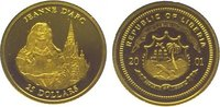 25 Dollars Gold 2001 Liberia Republik seit...